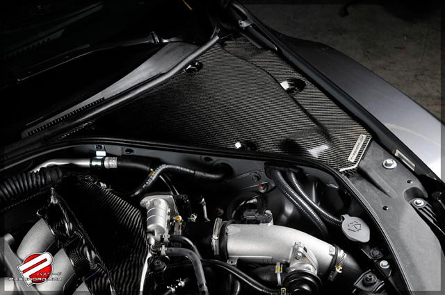 Carbon Fiber Engine Compartment Cover Nissan GT-R