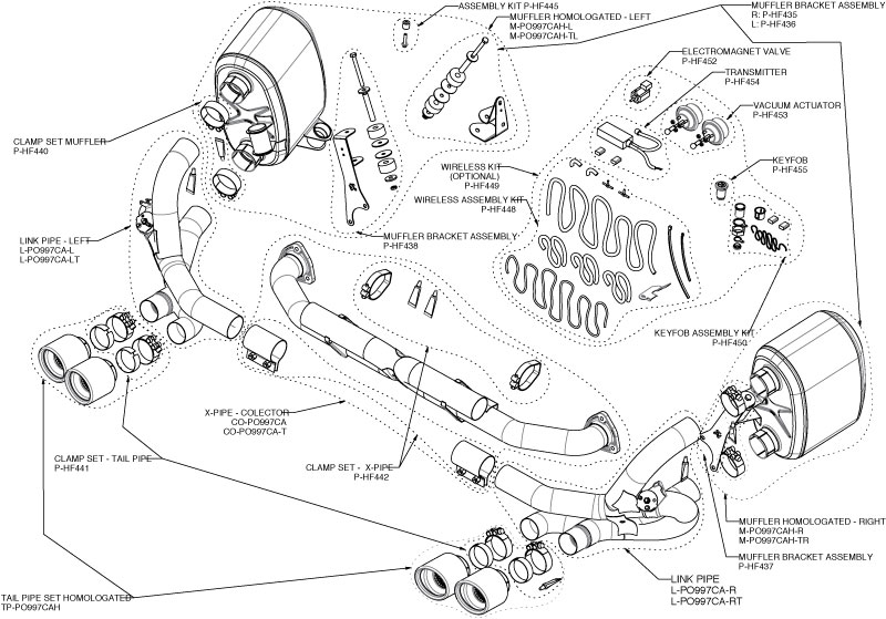 porsche boxster 987 diagram parts html