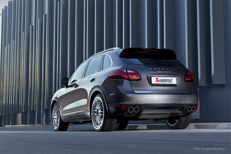 Porsche Cayenne Turbo Evolution Exhaust