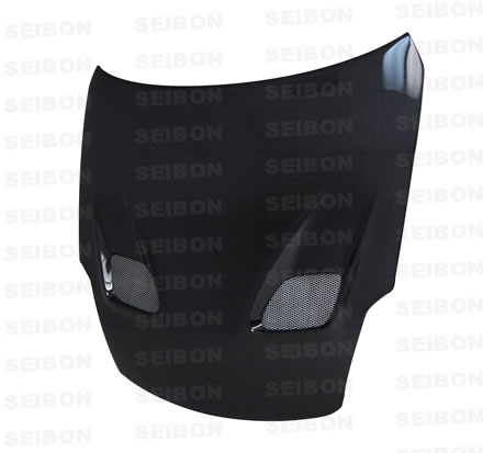 TSII Style Carbon Fiber Hood for the Nissan 350Z