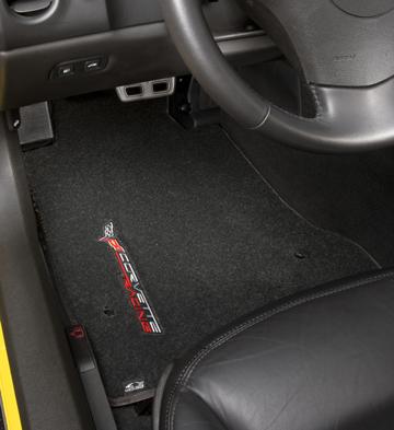 corvette racing floor mats