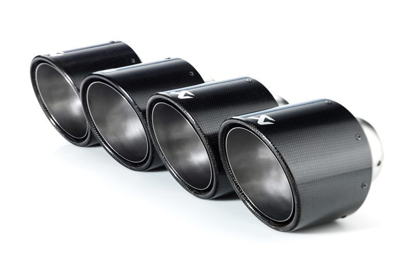 Nissan GTR Akrapovic Carbon Fiber Tips