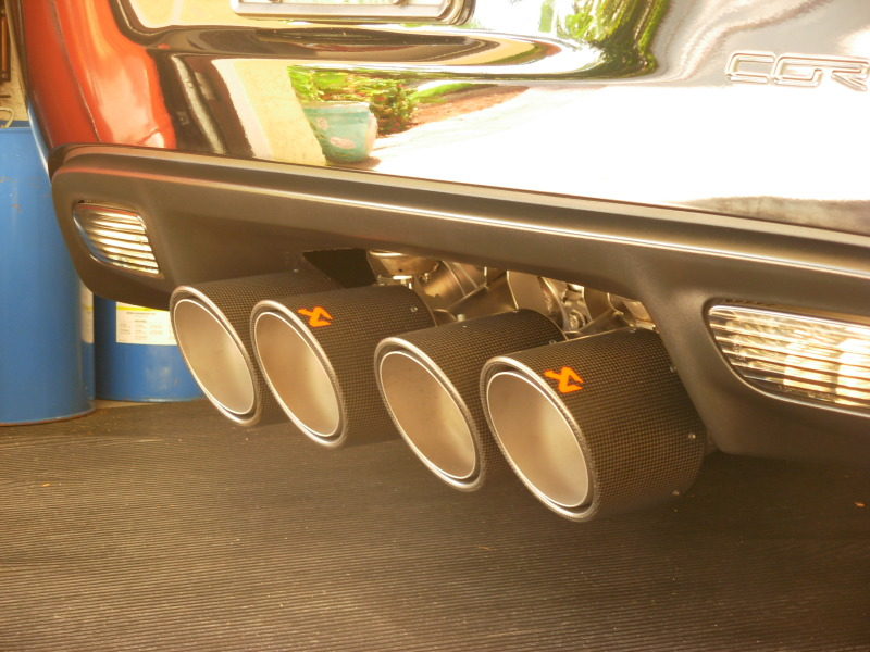 C6 Corvette  ZR1 and Z06 Akrapovic SS EVO Exhaust