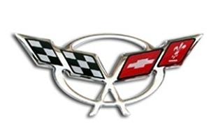 C5 Corvette domed steering wheel decal