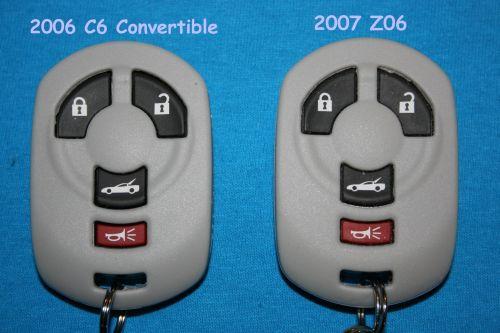 C6 C5 Corvette  and C6 Key FOB Jacket