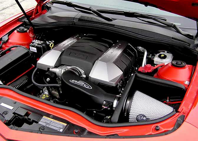 R2C High Performance Camaro SS Cold Air Intake System
