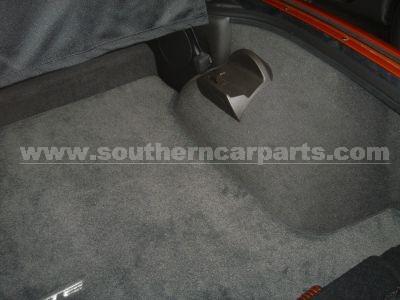 Corvette Lloyds cargo mats, corvette floor mats
