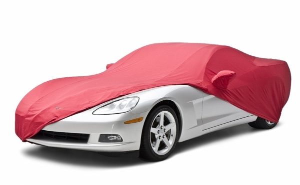Corvette Satin Stretch Car Cover