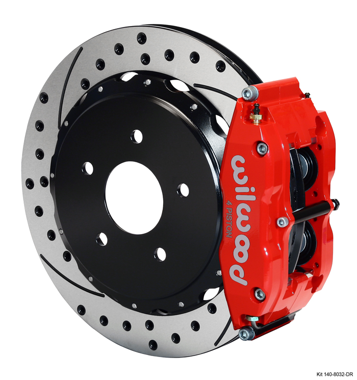 Corvette C6 Wilwood Rear Big Brake Kit