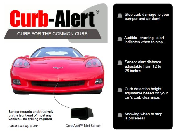 Curb Alert Vehicle Protection System