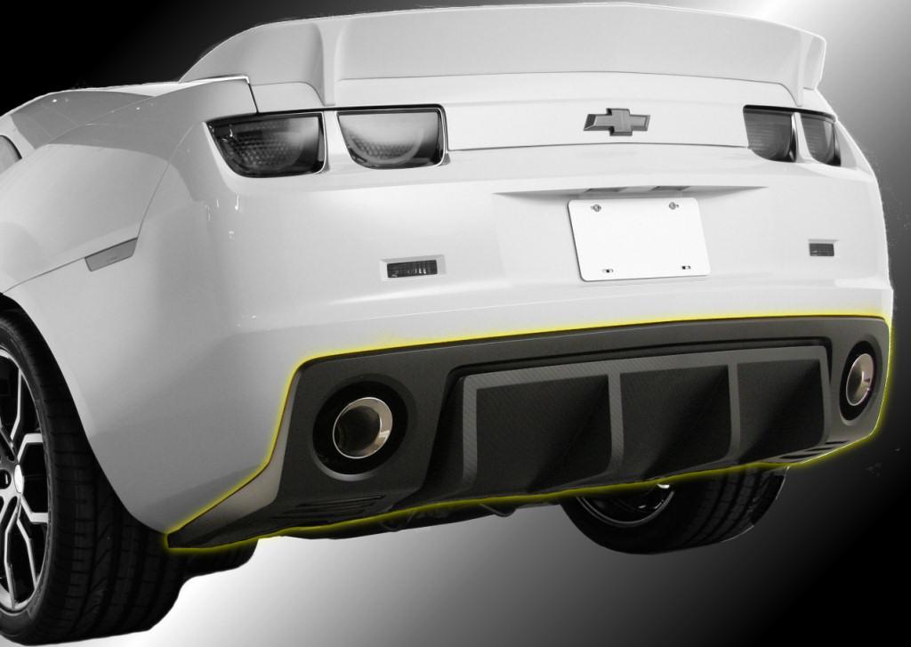 Havoc rear diffuser for the Camaro