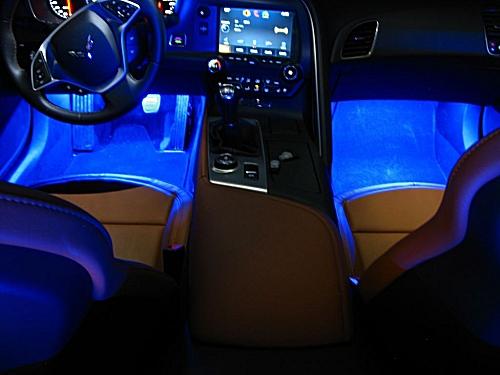 2014 2018 C7 Corvette Led Rear Exhaust Filler Area Lighting Kit