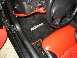 corvette floor mats, corvette C5 floor mats
