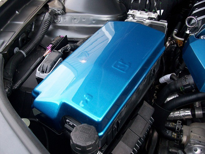 2010 2011 2012 2013 2014 camaro color painted fuse box cover