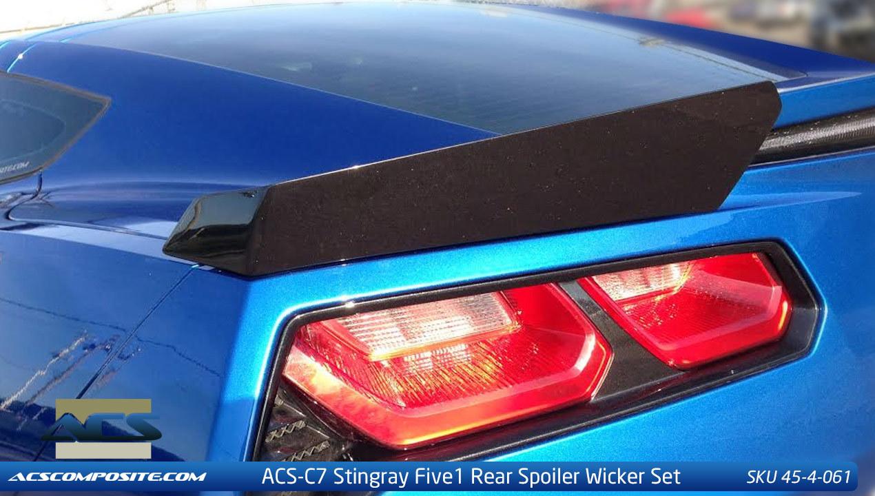ACS Five1 Z51 Wicker Spoiler Conversion Kit (Pn 45-4-061)