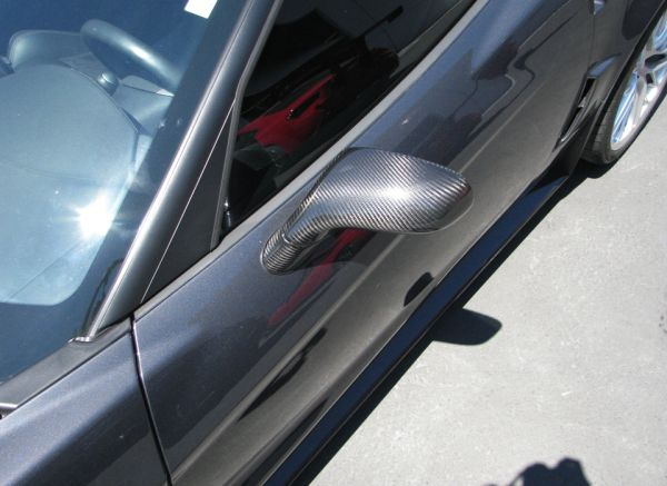 Corvette Carbon Fiber Mirrors