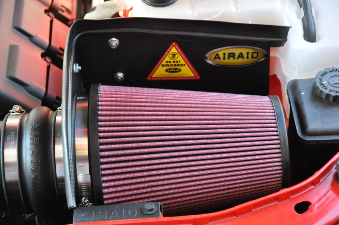 Dodge Challenger RT Airaid intake