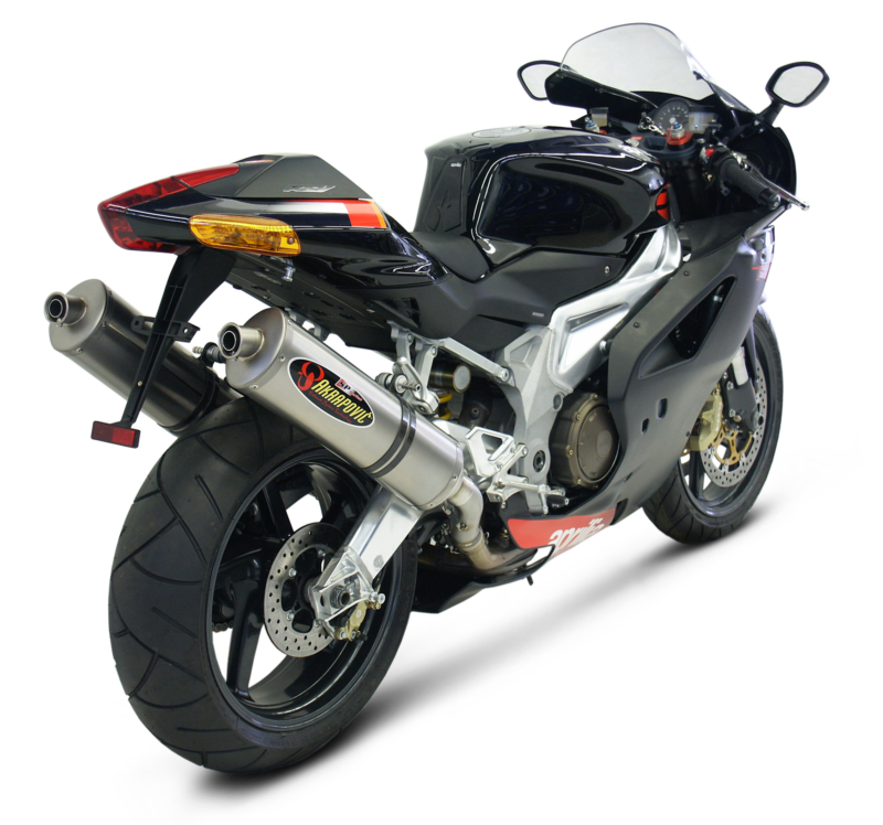 Performance Akrapovic Exhaust for Aprilia Motorcycle