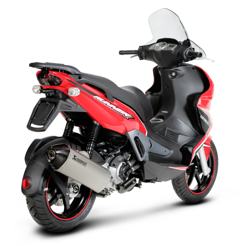 Gilera Akrapovic Exhaust Systems