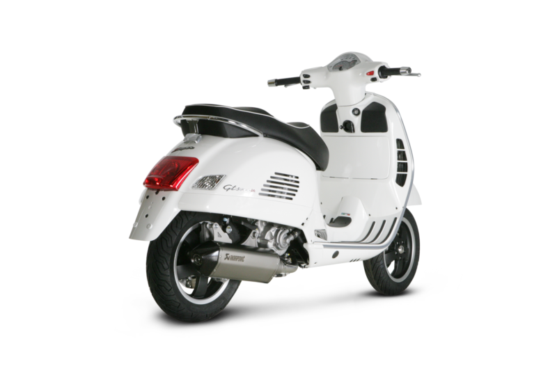Vespa Scooter Akrapovic Exhaust System