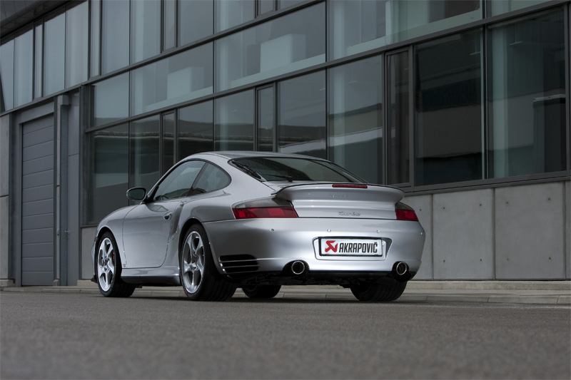 Porsche 911 Turbo Akrapovic Exhaust
