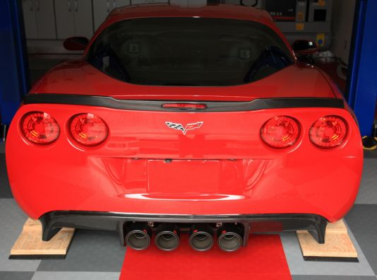 Akrapovic Corvette Exhaust tips