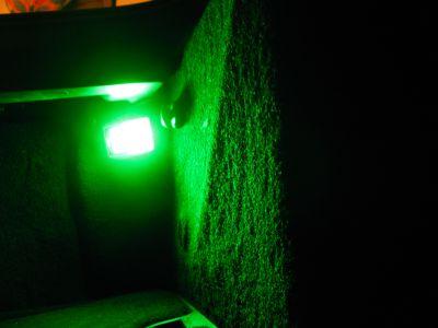 Corvette Rear Compartment LED Lighting