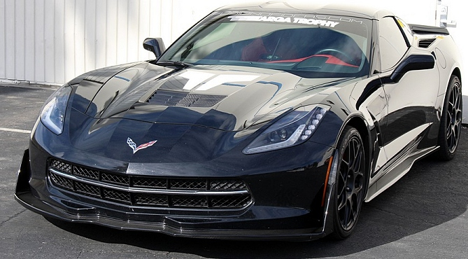 Corvette C7 Stingray Carbon Fiber Splitter