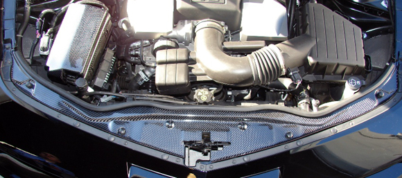 Camaro Carbon Fiber Radiator Cover
