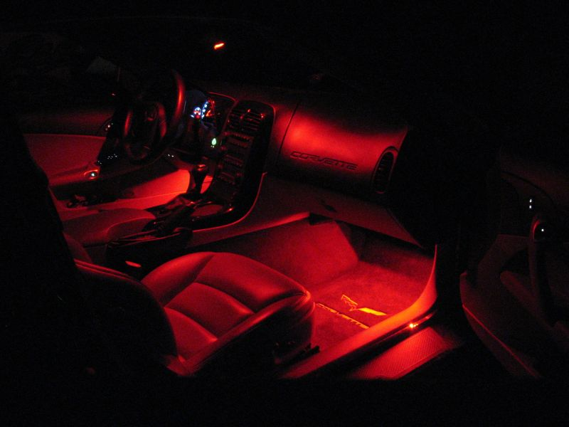 Corvette Custom Interior Lighting
