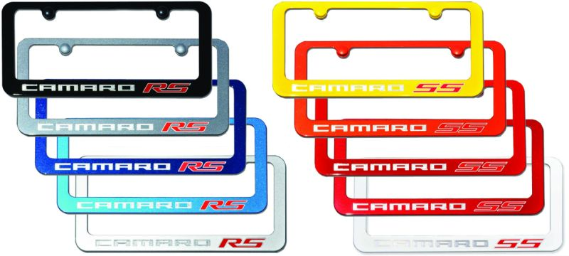 check them out at our website under our camaro painted license plate frame listing where youll see more photos and details about them as well as ordering