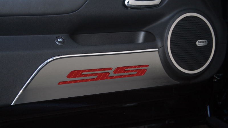 2010-2013 Camaro Door Kick Plates