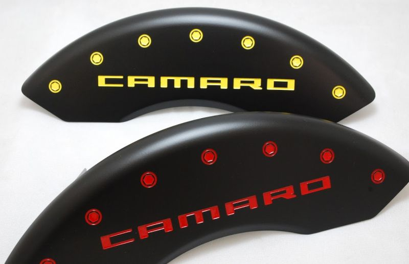 Stealth Black Custom Camaro Caliper Covers