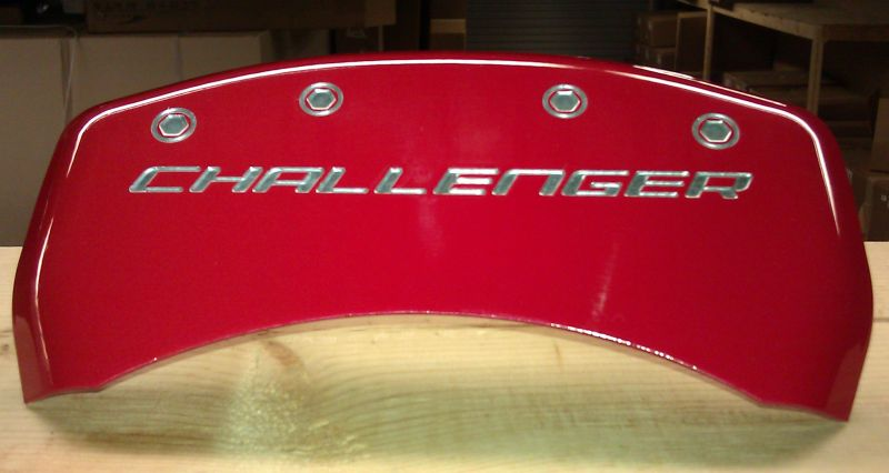 Dodge Challenger Engraved Caliper Cover