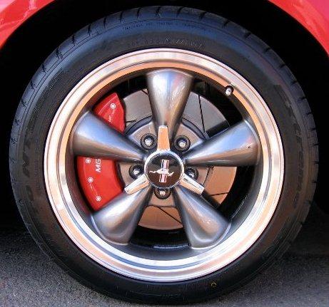 Aluminum MGP Caliper Covers
