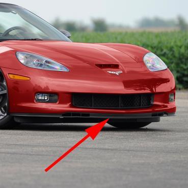 C6 Corvette Z06 & GS  OE Reproduction  Front Chin Spoiler