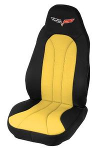 C6 Embroidered Neoprene Seat Covers