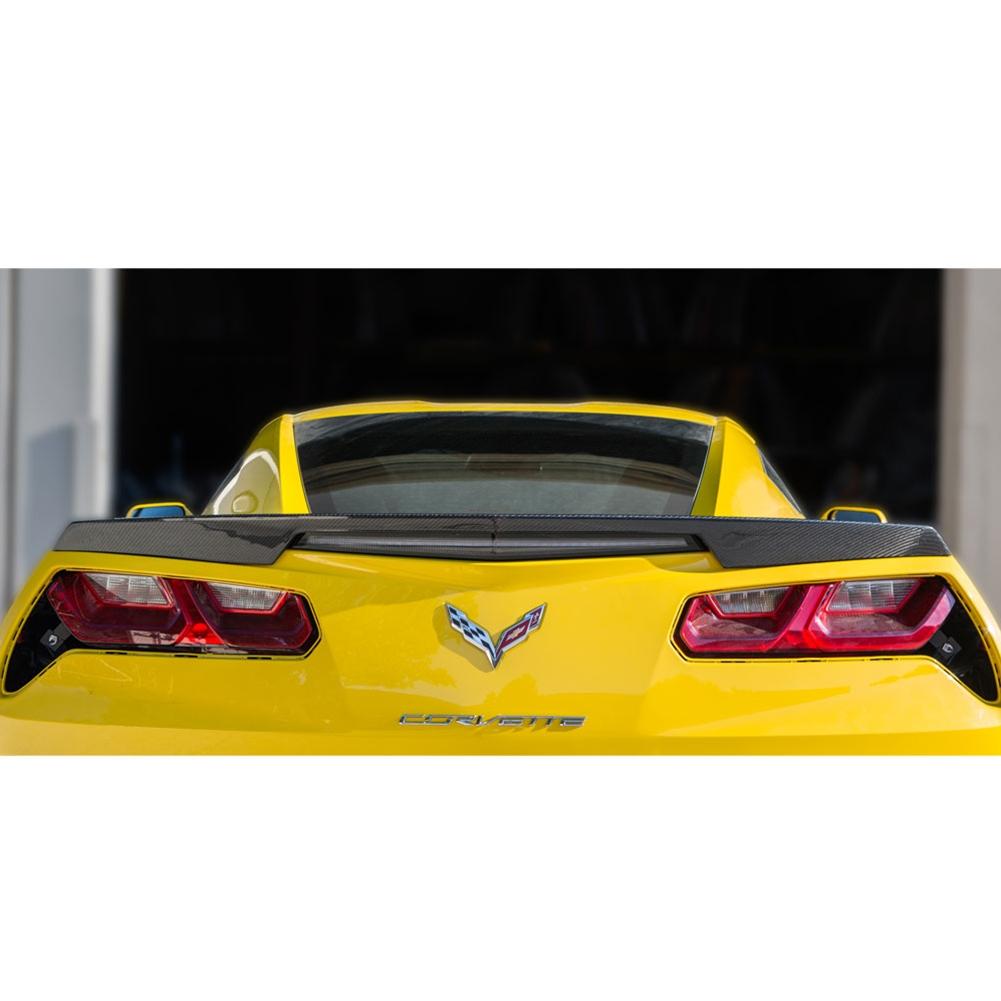 C7 Corvette Trufiber Rear Carbon Fiber Spoiler