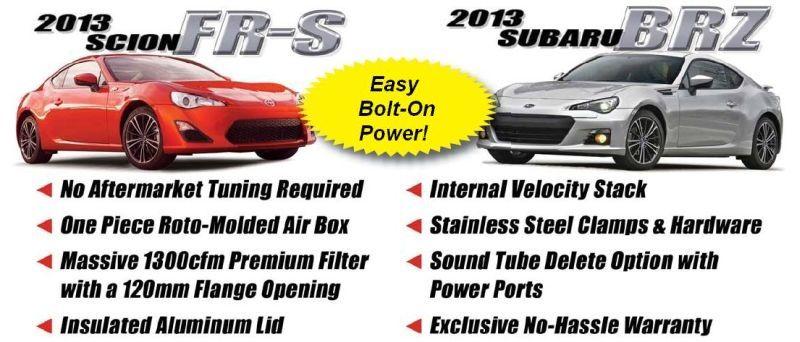 Scion FR-S Airaid Intake - Subaru BRZ Airaid Intake System