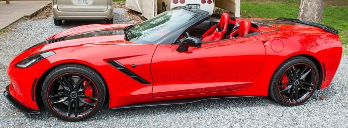 C7 Corvette Z06 Style Front Splitter