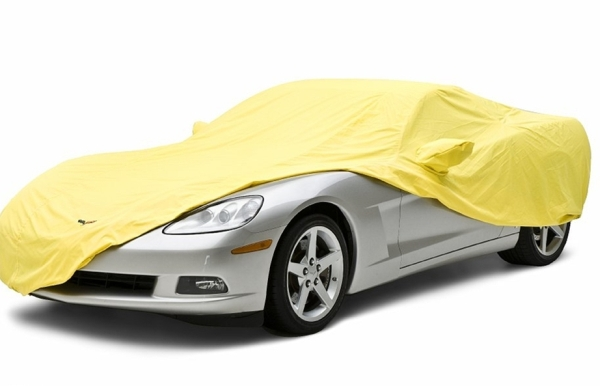 Corvette satin stretch indoor car cover