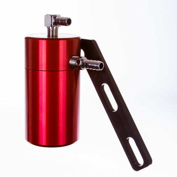 Red Oil Catch Can for the Camaro LSX
