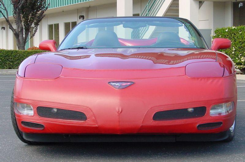 Corvette Front Bumper Mask - Corvette Nose Bra