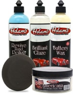 Adams Polishing and Waxing Products