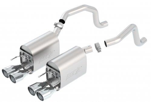 C6 Corvette  Borla Sport Axleback Exhaust System (11811)