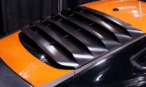 2015 2017 Ford Mustang Mrt Rear Window Louvers
