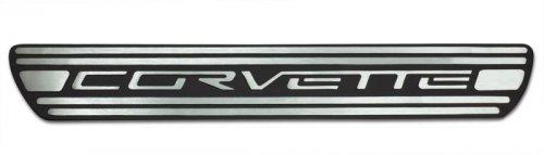 C6 Corvette  Aluminum Door Sill Plates
