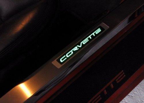 C6 Corvette  LED Lighted Door Sill Plates