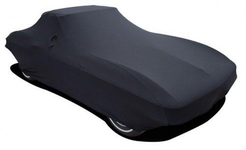 C2 Corvette Car Cover Satin Black Indoor