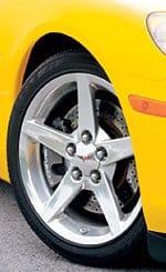 C6 Corvette  Z51 Brake Rotor Package